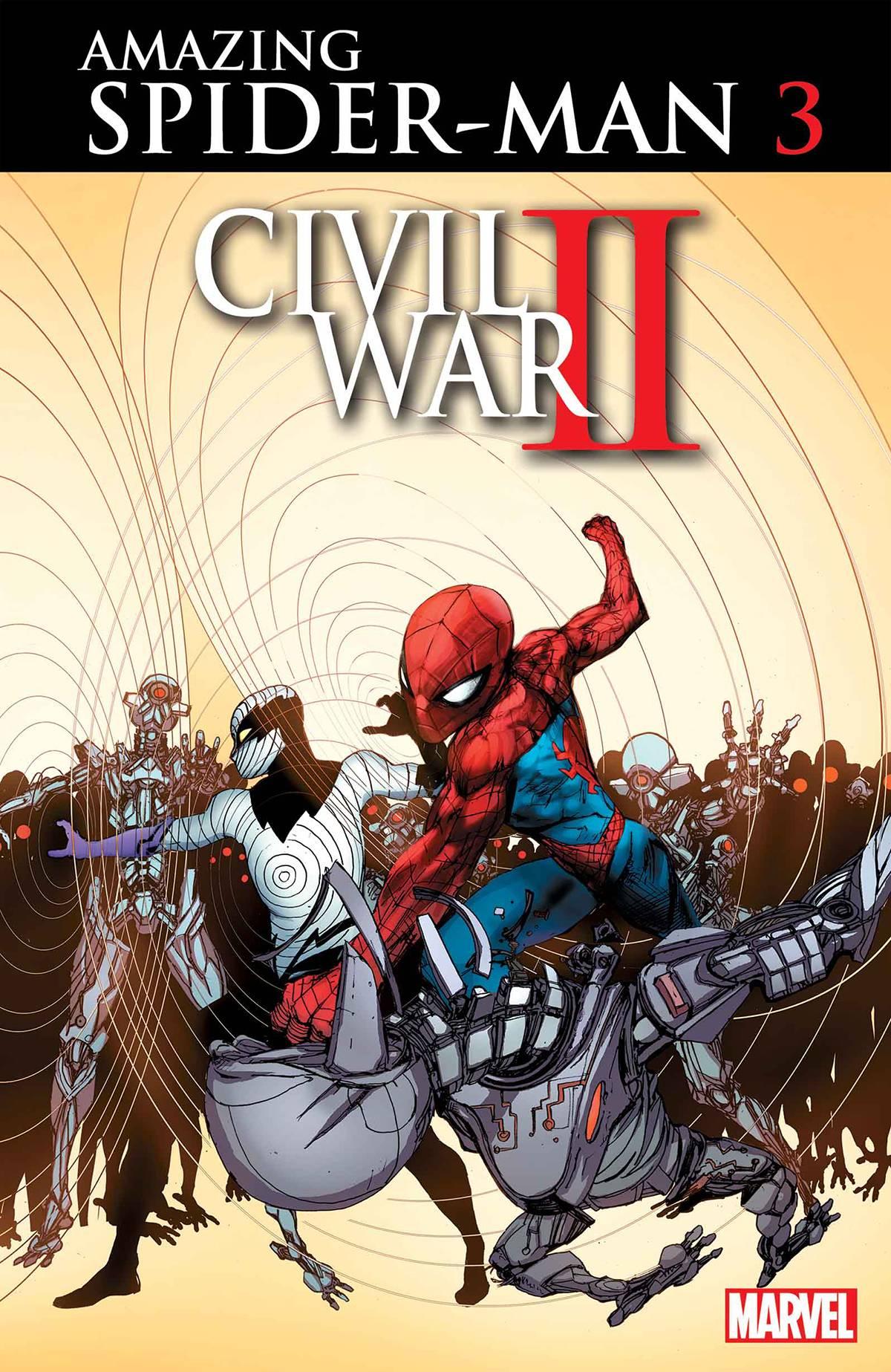 CIVIL WAR II AMAZING SPIDER-MAN #3 (OF 4)