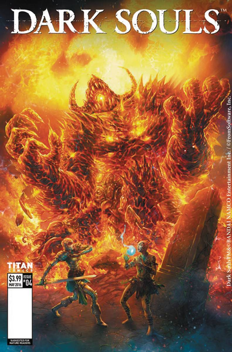 Dark Souls Legends of the Flame #1 Cover D Titan Comics 2016