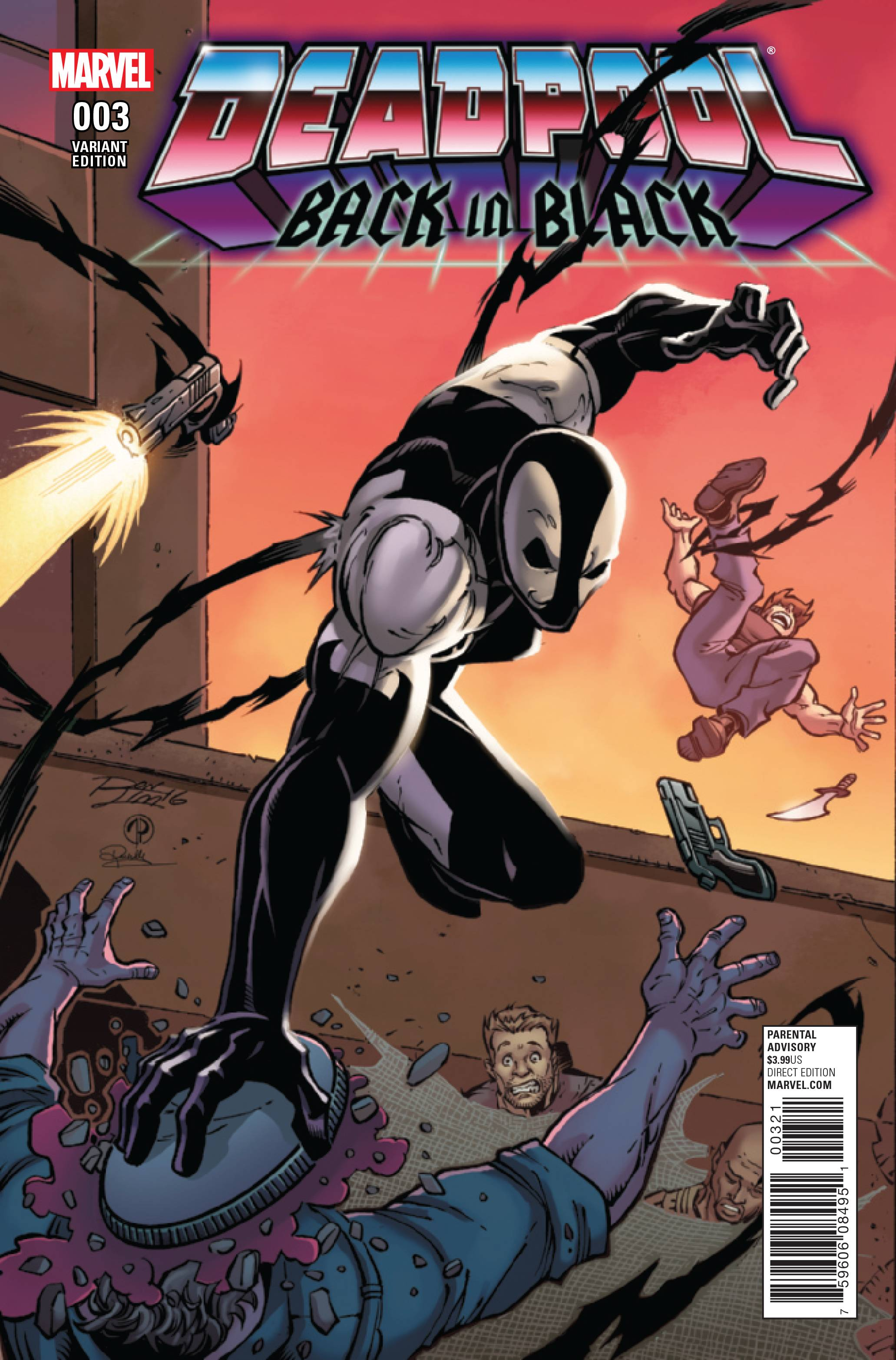 Deadpool Back In Black 3 Of 5 Lim Variant Cover