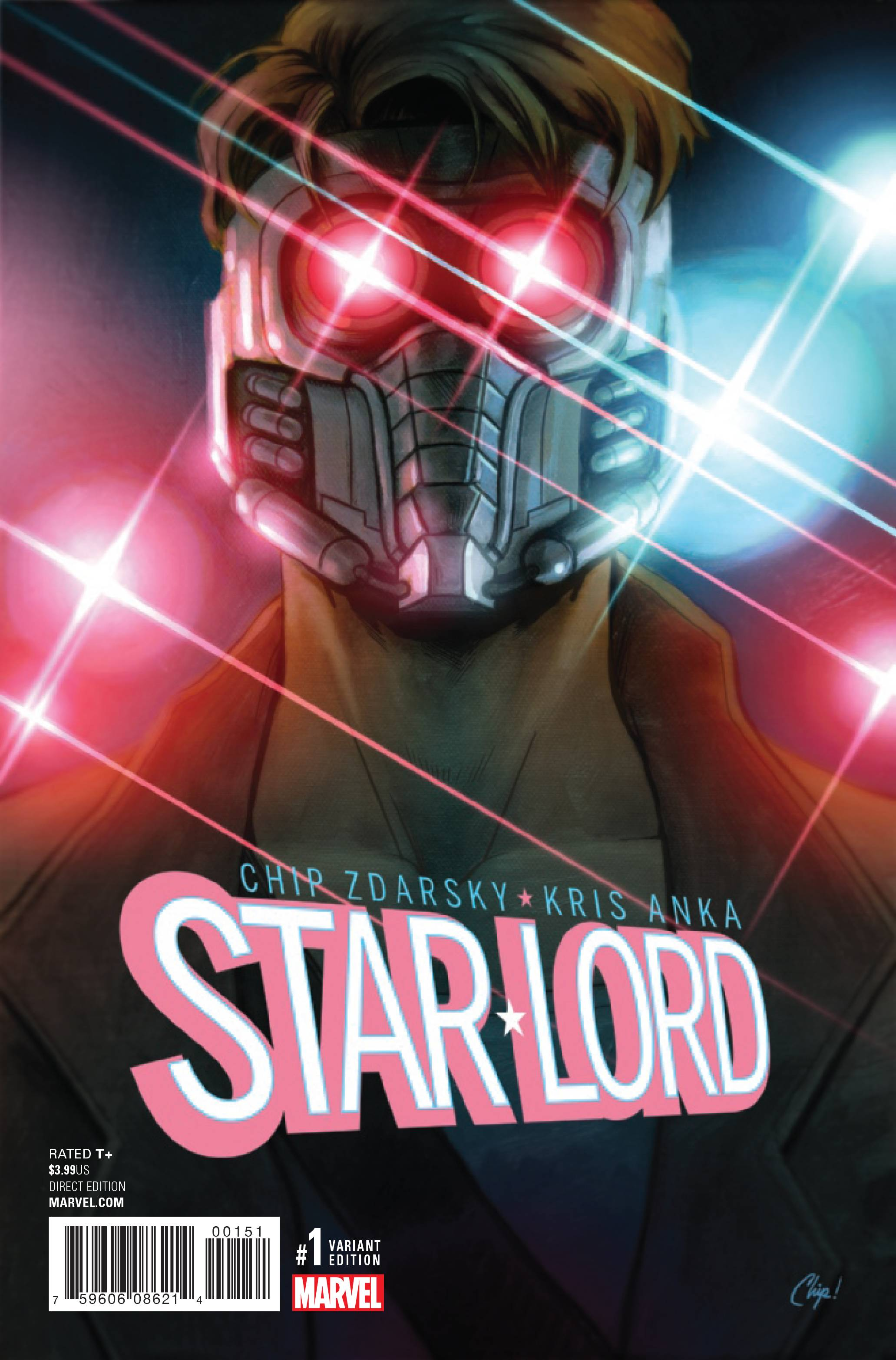 STAR-LORD #1 MOVIE 1:20 INCENTIVE VARIANT COVER