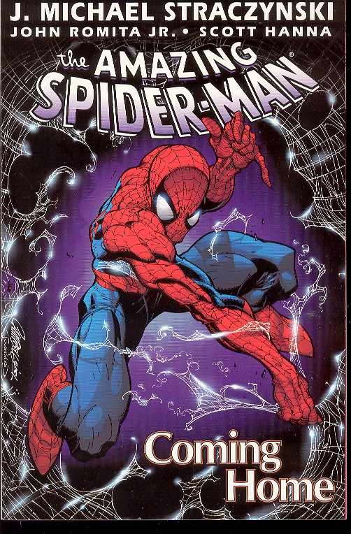 AMAZING SPIDER-MAN TP VOL 01 COMING HOME