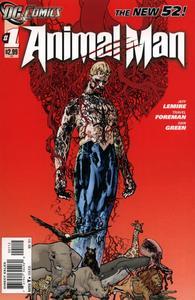 Animal man vol 2 1 cover 2