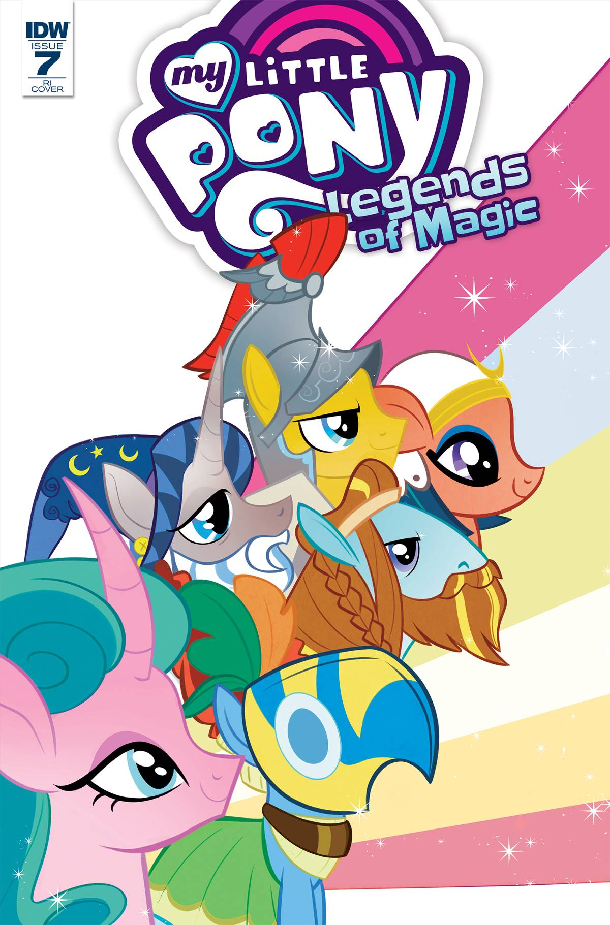my little pony legends of magic 7 variant cover 1 in 10 copies