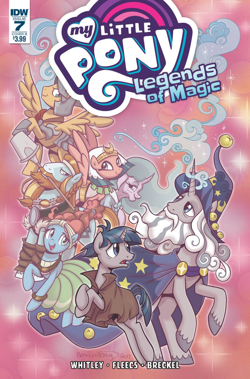 my little pony legends of magic 7 cover b hickey