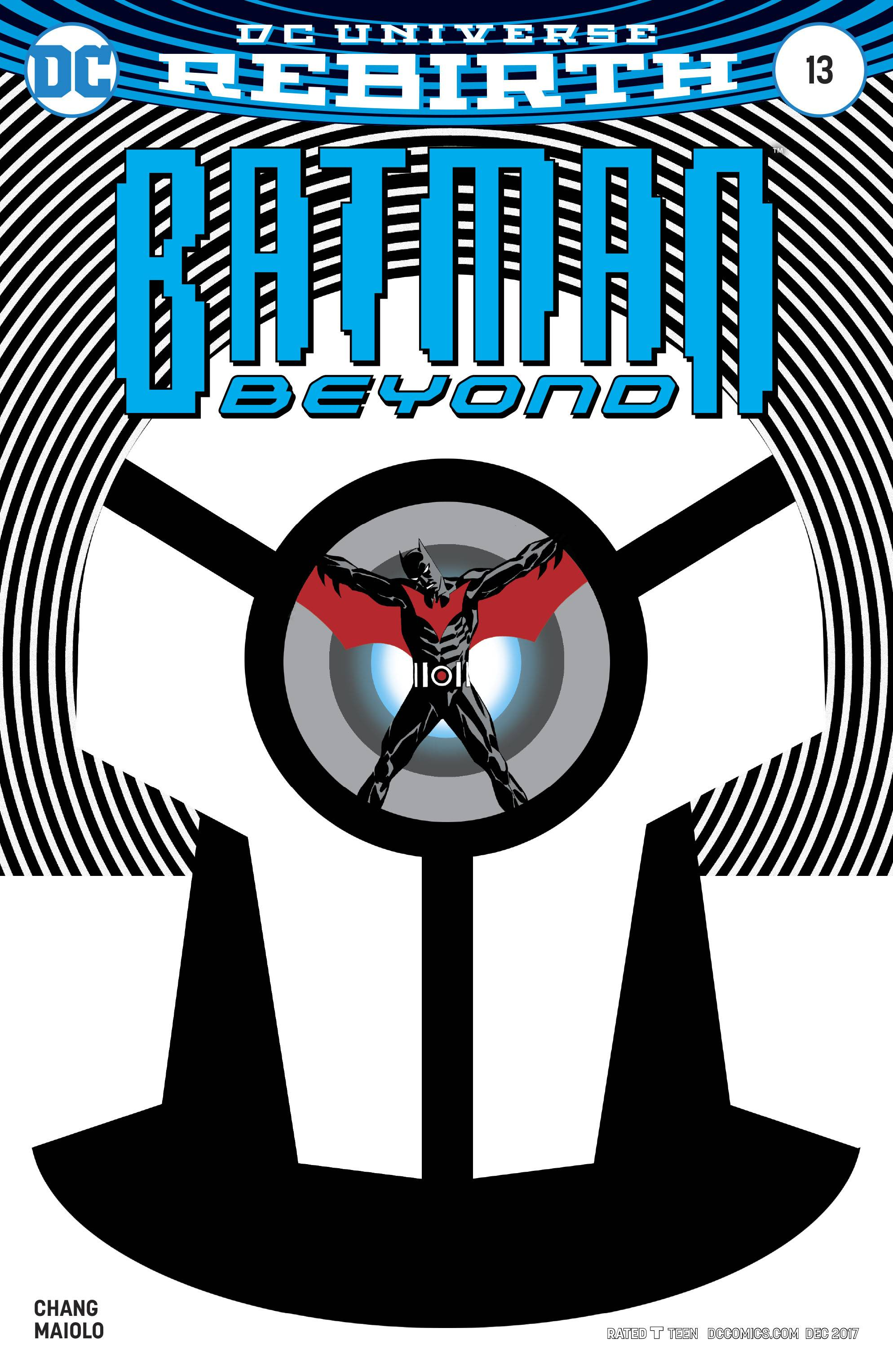 Batman beyond 13 variant cover set in the time just after terry mcginnis returned to his batman role this non stop all out action issue pits him against a gauntlet of villains buycottarizona Images