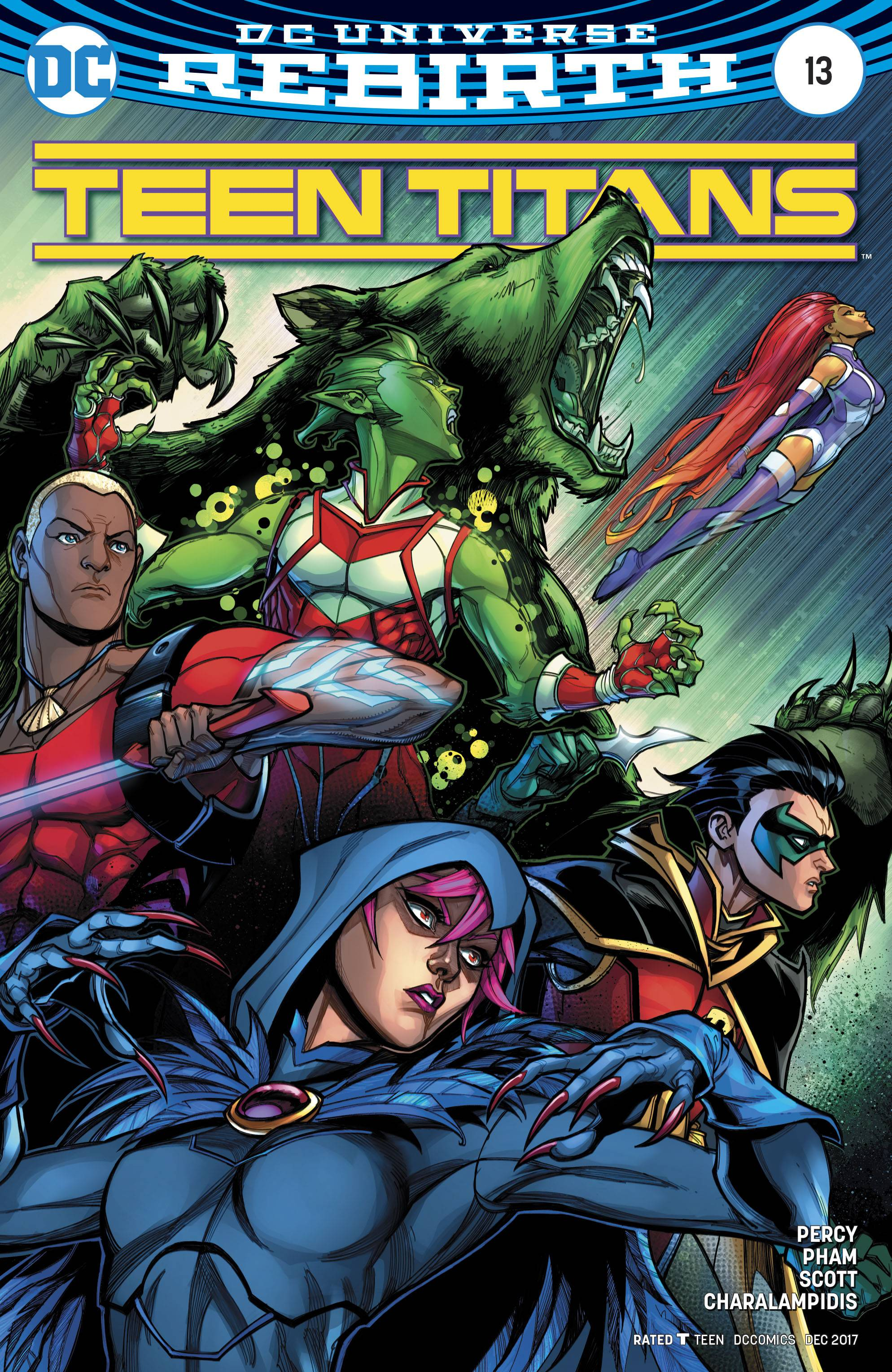 Teen Titans 13 Variant Cover-3498