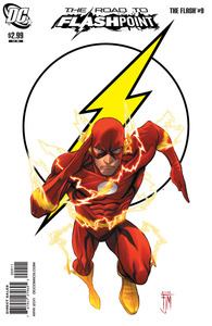 The flash the road to flashpoint 9 cover 1