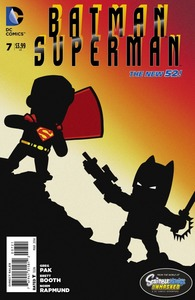 Batman superman vol 1 7 scribblenauts variant