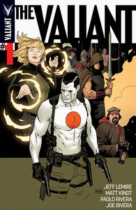 The valiant 001 cover rivera