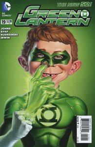 Green lantern vol 5 19 mad variant