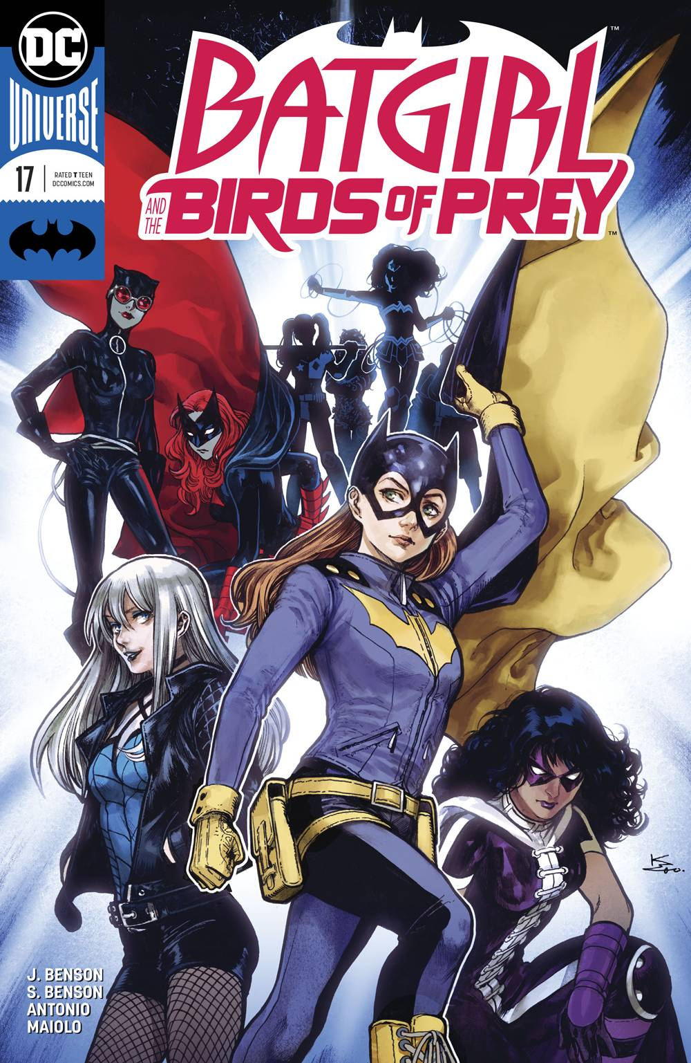 Batgirl And The Birds Of Prey 17 Variant Cover