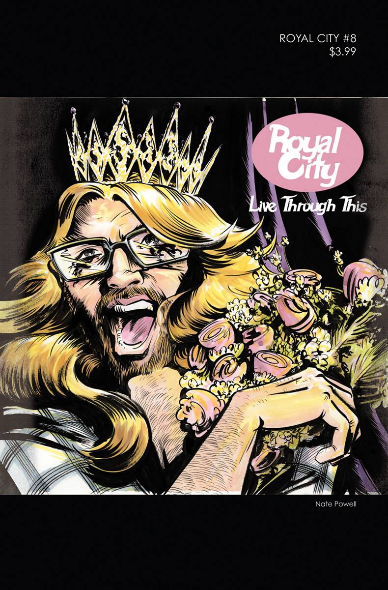 ROYAL CITY #8 COVER B 90s ALBUM HOMAGE VARIANT COVER
