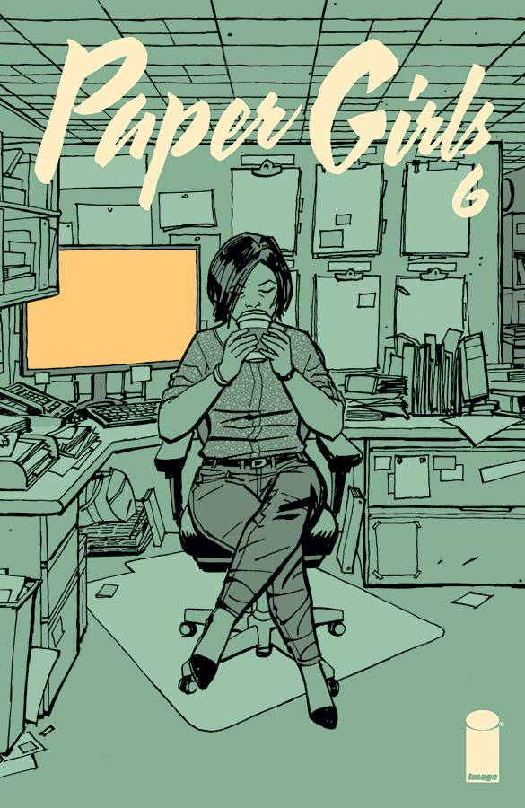 paper girls 6 6 - paper girls composed by brian k vaughan of the adventure, action genres you can use left or right keyboard arrow keys to go to the back or next page.