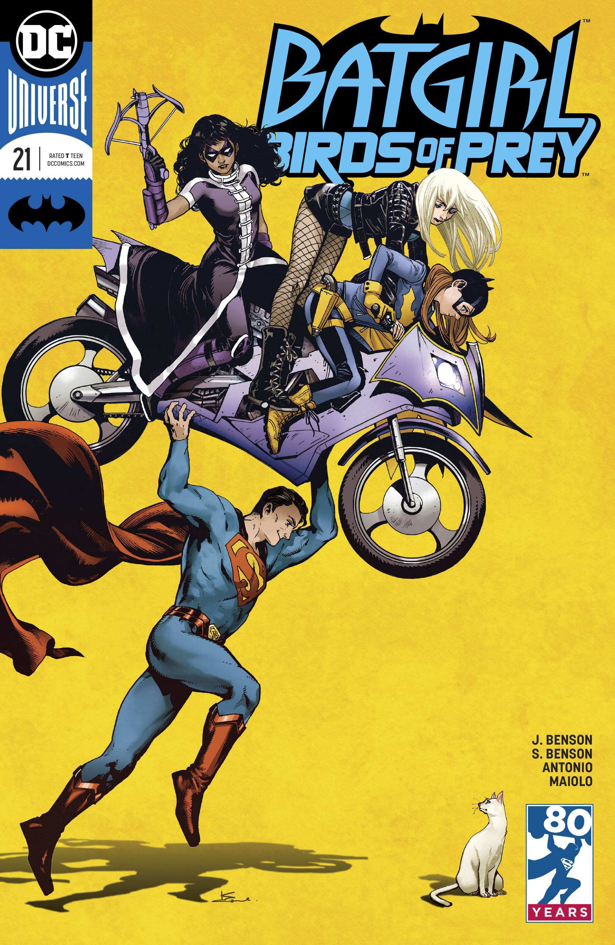 Batgirl And The Birds Of Prey 21 Variant Cover
