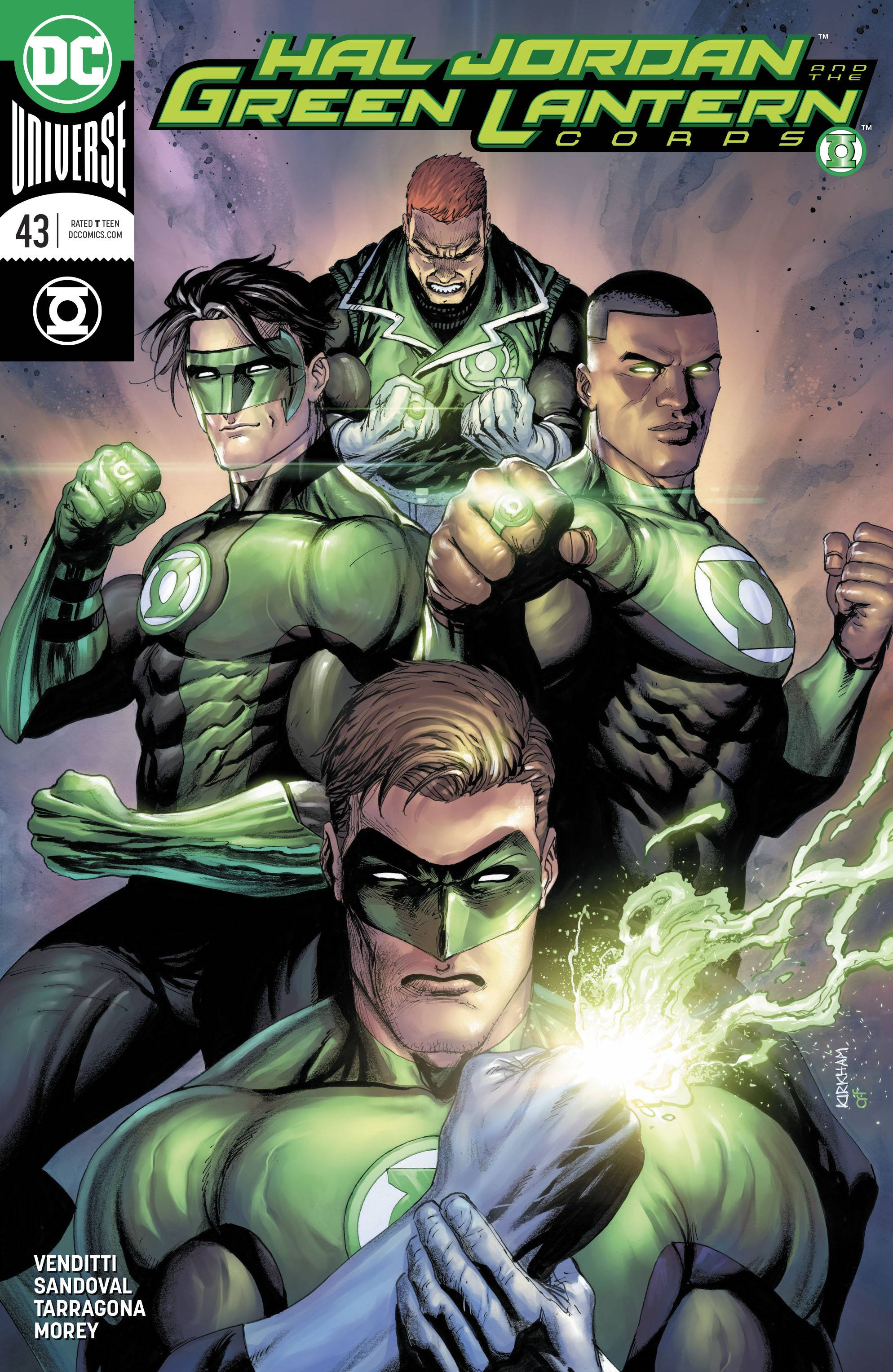 hal jordan and the green lantern corps #43 variant cover