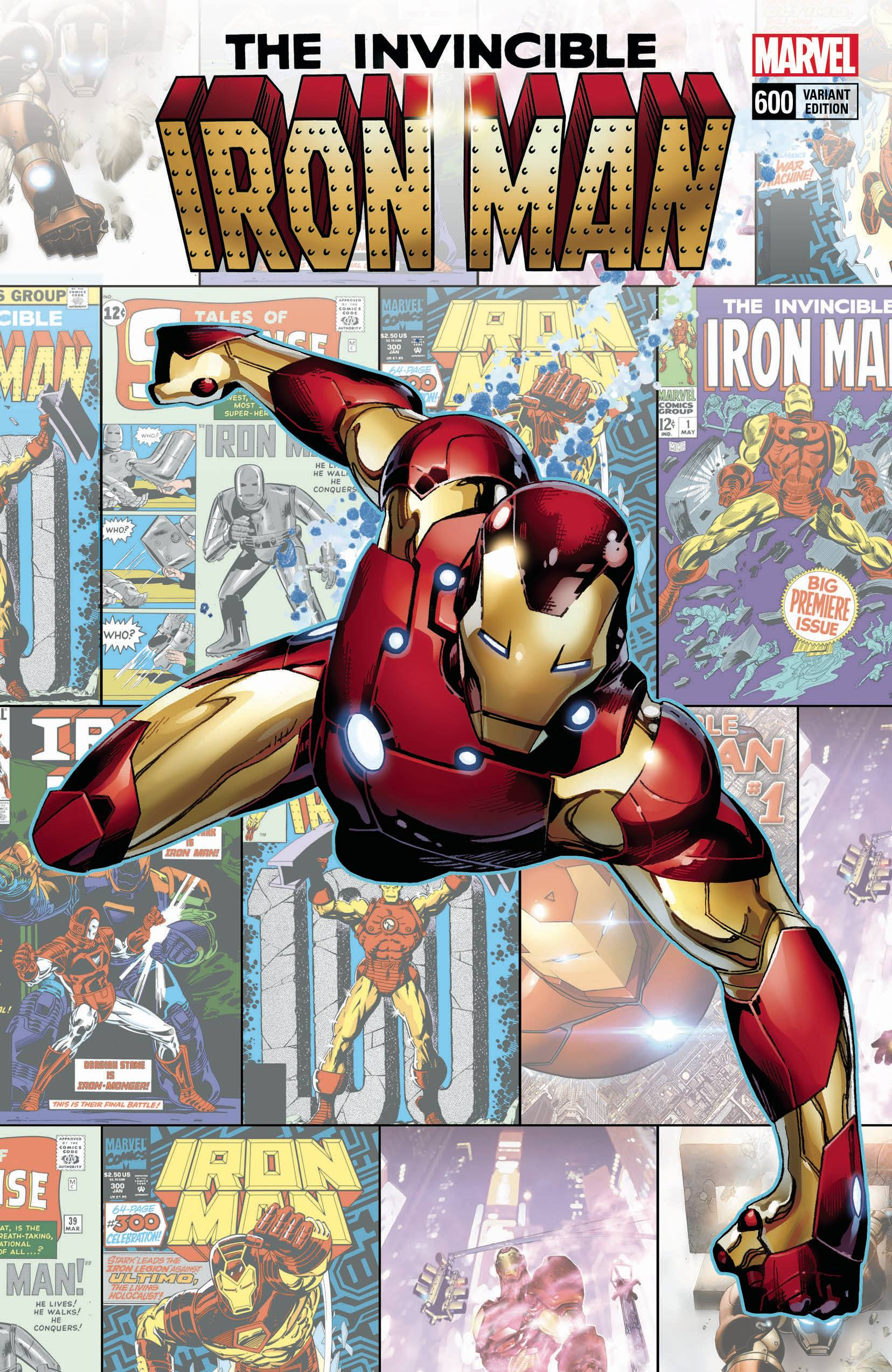 Invincible Iron Man 600 Coipel Variant Cover 1 In 25 Copies