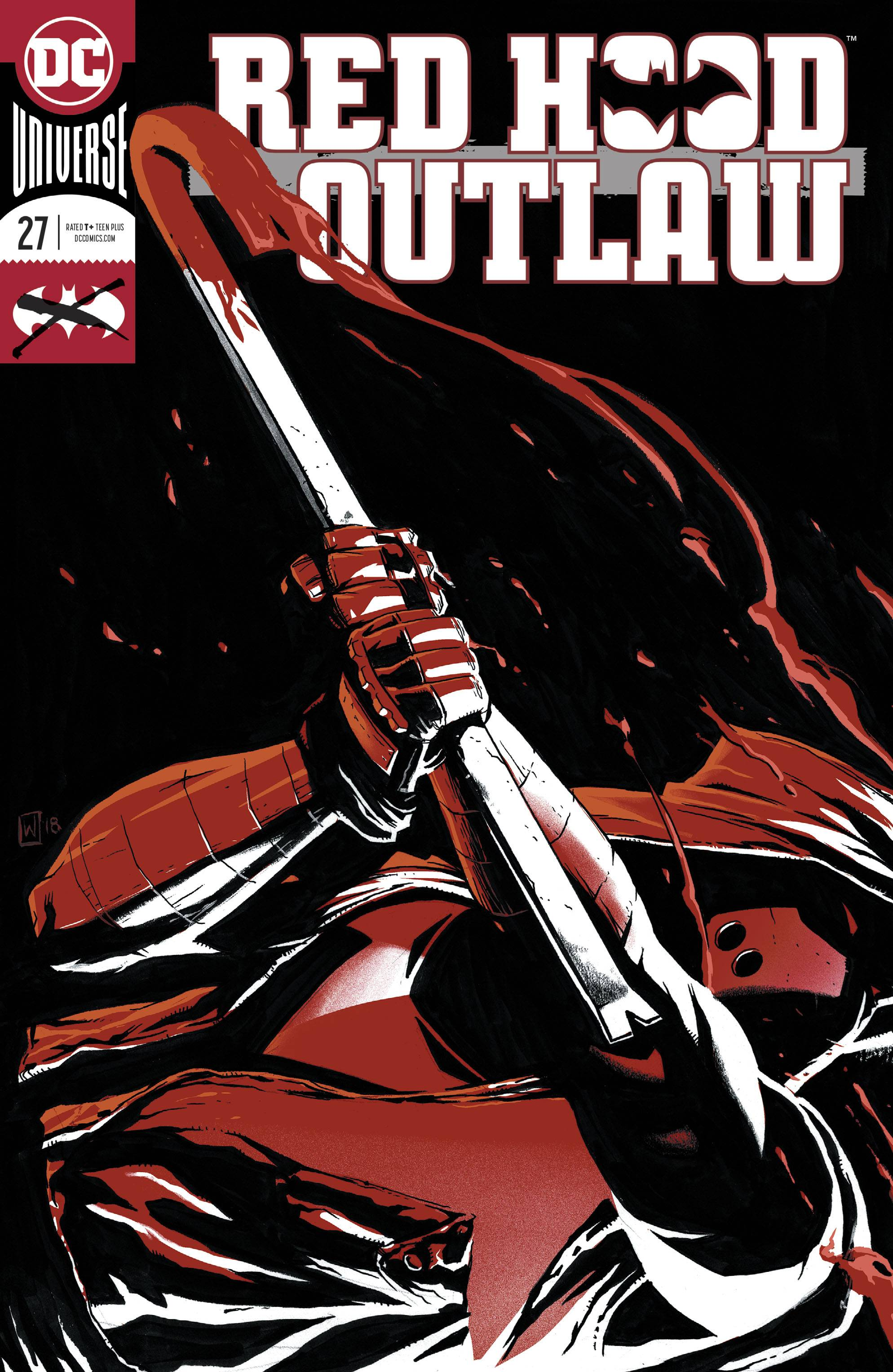 Red Hood Outlaw 27 Foil Cover