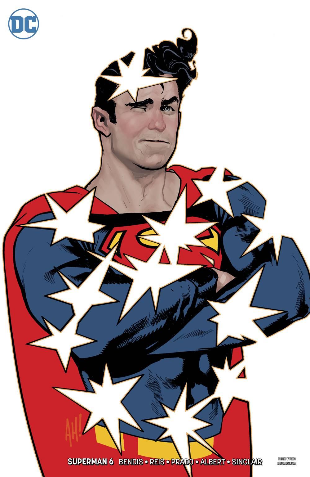 SUPERMAN #6 ADAM HUGHES VARIANT EDITION BY DC COMICS