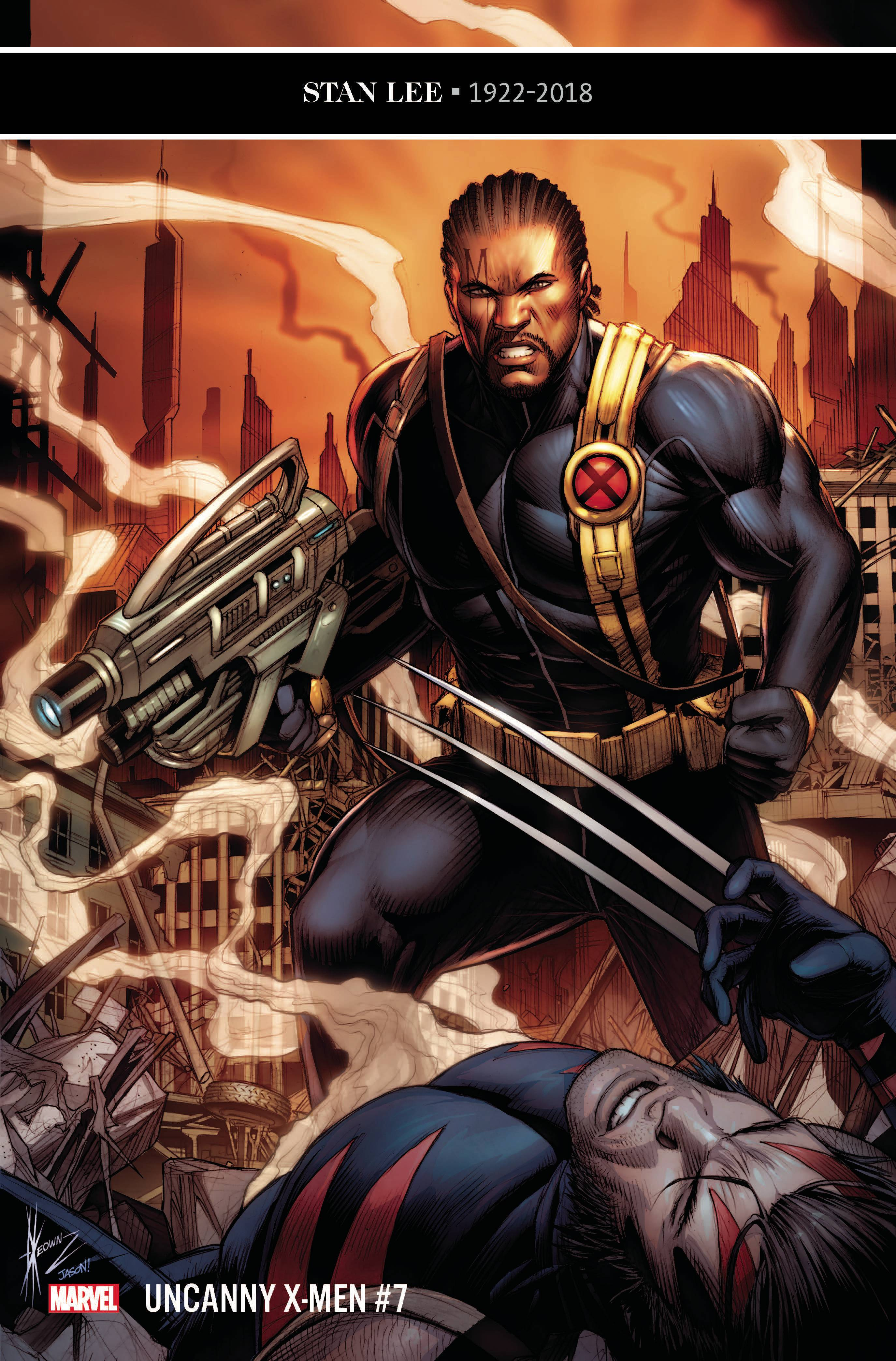 UNCANNY X-MEN #7 VARIANT PERE PEREZ COVER (1 in 25 copies)