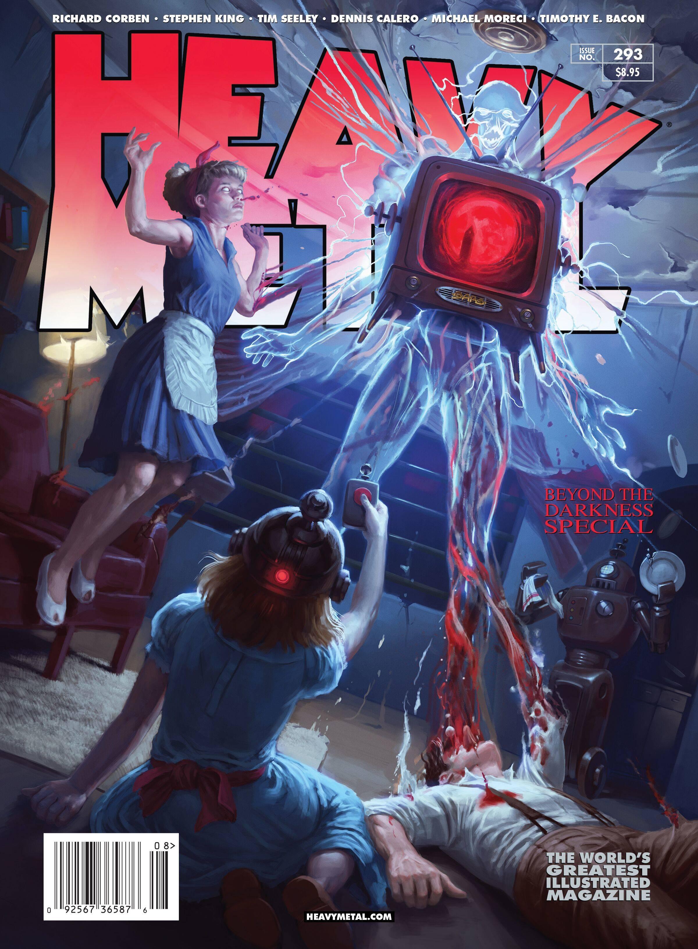 HEAVY METAL #293 COVER A GRECO PAGLIA (MR)